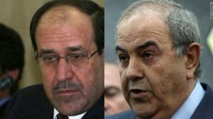 """""""العراقية"""" تنهي مقاطعتها للبرلمان دون حكومة المالكي"""