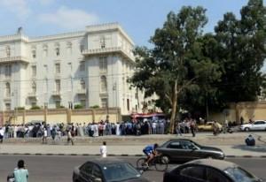 مصري يضرم النار في نفسه امام القصر الرئاسي بالقاهرة