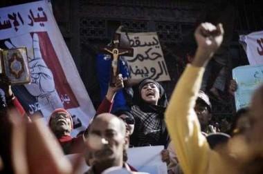 اشتباكات في محيط دار القضاء العالي بالقاهرة