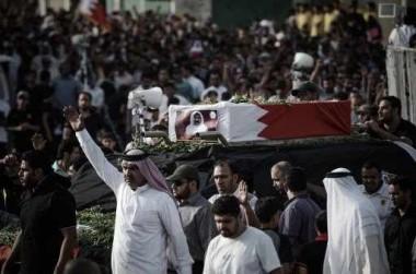 مواجهات بين الشرطة ومتظاهرين في البحرين بعد تشييع جثمان مواطن