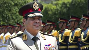 تناولت تقارير احتمالية ترشح وزير الدفاع الحالي عبد الفتاح السيسي للرئاسة.