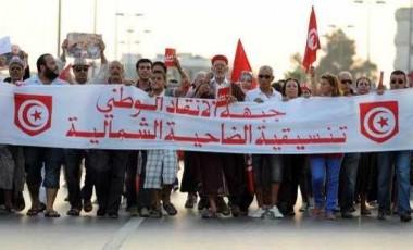"""أكبر حزب معارض في تونس ينضم إلى """"جبهة الانقاذ الوطني"""" التي تطالب بحل البرلمان والحكومة"""