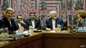 اجتمع وزير الخارجية الأمريكي مع نظيره الإيراني بمقر الأمم المتحدة في نيويورك