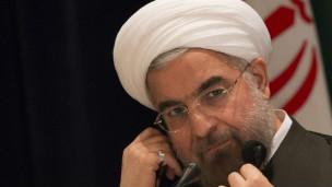 روحاني تعرض لانتقاد علني من رئيس الحرس الثوري لتلقي مكالمة أوباما