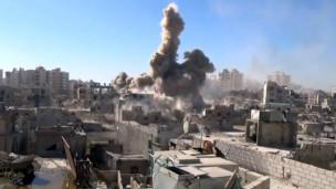 برزة تشهد هدنة بعد معارك طاحنة