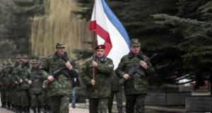 أحكمت موسكو قبضتها العسكرية على شبه جزيرة القرم.