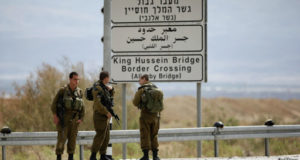 السلطات الإسرائيلية أغلقت معبر اللنبي بعد وقوع الحادث.