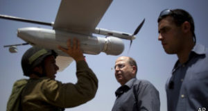 تعمل طائرات سكاي لارك في التصوير وجمع المعلومات الاستخباراتية