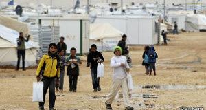 يعيش في المخيم قرابة 70 ألف لاجئ سوري