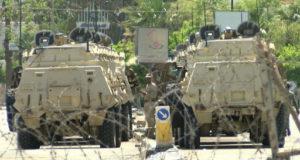 """انتشار مكثف للجيش لمواجهة أي احتمال """" لأعمال عنف أو فوضى"""""""