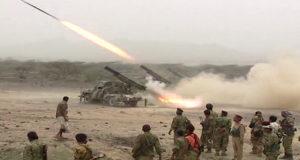 تتواصل الحملة العسكرية التي يشنها الجيش منذ خمسة أيام على مواقع لمسلحي تنظيم القاعدة جنوبي اليمن .
