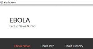 شركة أمريكية تبيع حقوق ملكية موقع Ebola.com بـ 200 ألف دولار