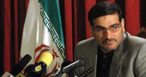 رئيس المجلس الأعلى للأمن القومي الإيراني على شمخاني