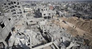 آثار الحرب على غزة