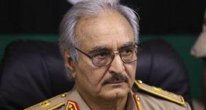 القائد العام للجيش الليبي الفريق أول ركن خليفة حفتر