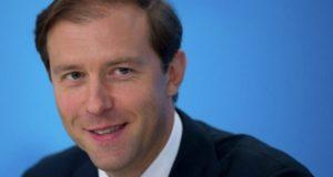 وزير الصناعة والتجارة الروسي دينيس مانتوروف