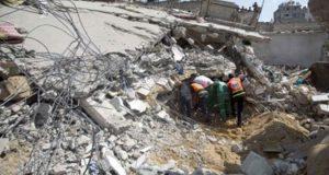 آثار العدوان الاسرائيلى الاخير على غزة