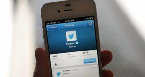 تطبيق تويتر على الهواتف الذكية