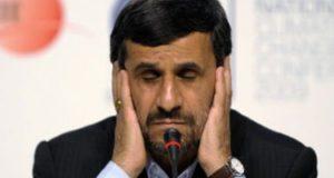 الرئيس الايرانى السابق أحمدى نجاد