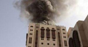 حريق فندق ـ صورة أرشيفية