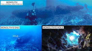 اكتشاف مجموعة صخور متراصة من صُنع الإنسان عمرها 10 آلاف عام في باطن البحر المتوسط