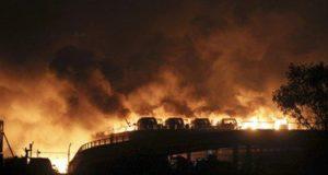 انفجار الصين