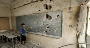 .تقول اليونيسيف إن الهجمات على المدارس أحد الأسباب الرئيسية التي تمنع تعليم الأطفال العرب- أرشيفية