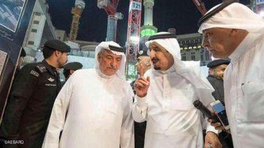 .العاهل السعودي يتفقد موقع سقوط الرافعة في الحرم المكي