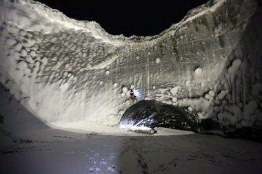 حفرة ضخمة في سبيريا