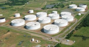 مخزونات النفط في الولايات المتحدة