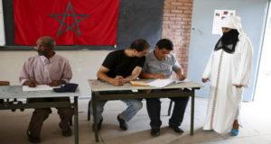 انتخابات الغرفة الثانية للبرلمان المغربي