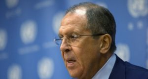 وزير خارجية روسيا سيرغي لافروف