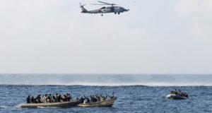 عملية قبض على قراصنة صوماليين - أرشيف