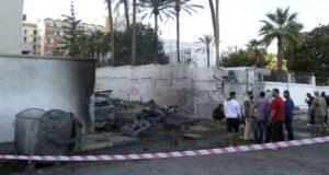 انفجار سابق في طرابلس