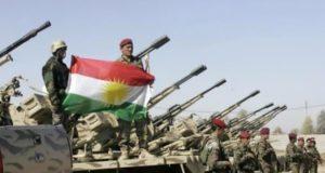 قوات البيشمركة الكردية