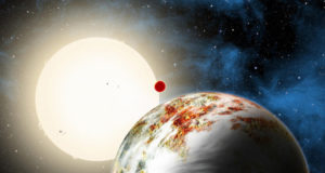 أضخم كوكب صخري في الكون