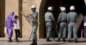 قوات أمن مغربية