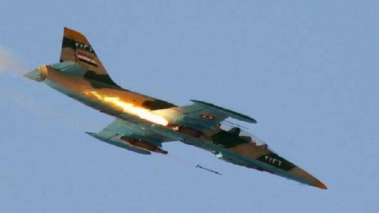 سوريا: مقتل 24 مسلحا بقصف جوي و12 بانفجار مستودع للذخيرة