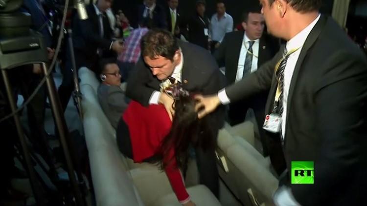 حرس أردوغان يتسبب بفضيحة في الإكوادور