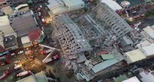 تضرر العديد من المباني جراء الزلزال