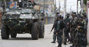 قوات الأمن الفلبينية