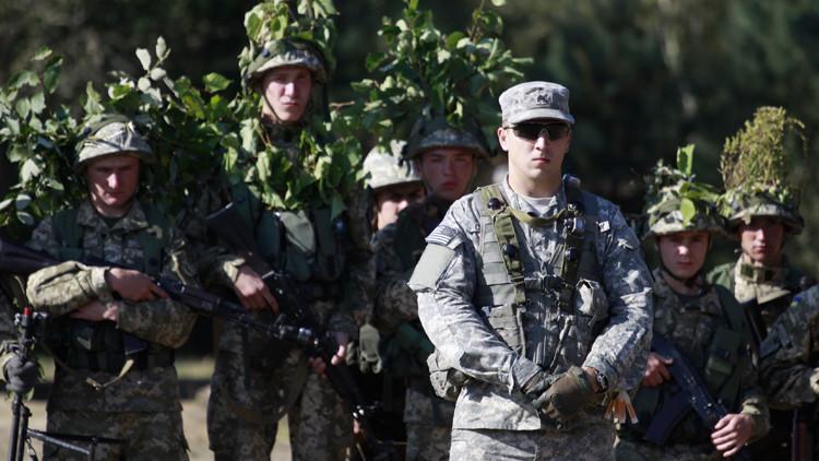 غرب أوكرانيا يشهد مناورات أمريكية أوكرانية