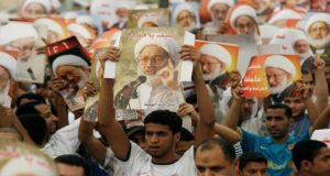 مظاهرات في البحرين على سحب الجنسية من الشيخ عيسى قاسم