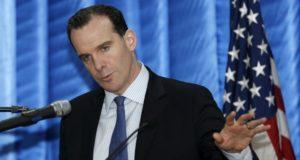 بريت ماكغورك، ممثل الرئيس الأمريكي باراك أوباما في التحالف الدولي ضد تنظيم داعش