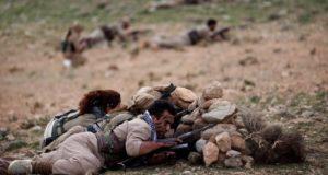 مسلحون إيرانيون أكراد قرب أربيل
