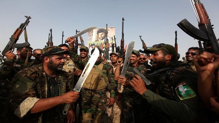 مقاتلون تابعون للحشد الشعبي العراقي