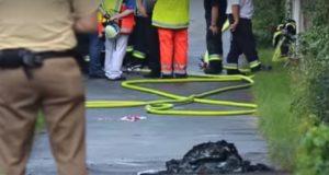 انفجار في بلدة تسيرندورف قرب مدينة نورنبرغ الألمانية