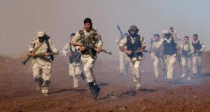 """مسلحون من """"كتيبة المجاهدين"""" الإرهابية في سوريا"""
