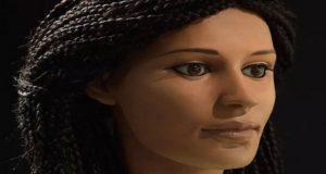 ترميم رأس امرأة فرعونية محنطة عاشت منذ 2000 عام