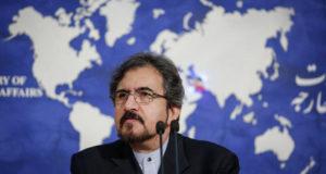 المتحدث باسم وزارة الخارجية الإيرانية - بهرام قاسمي